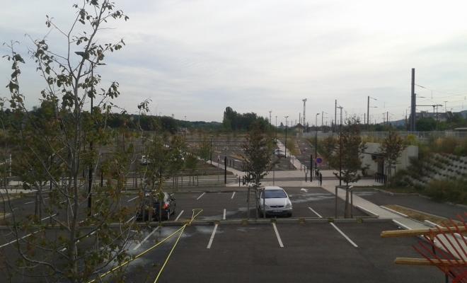 Aménagement parking gare SNCF, Forbach